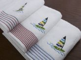34. embroidered towel