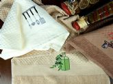 97 embroidered kitchen towel